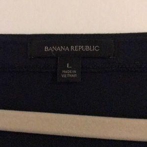 Banana Republic Tops - Banana Republic Navy Bell Sleeve Top